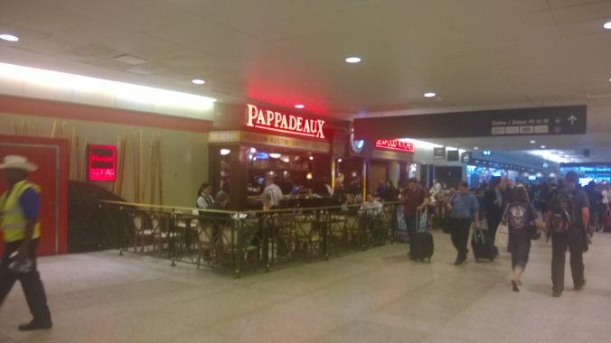 Pappadeaux's in Hobby Airport
