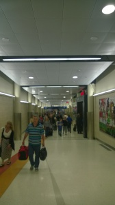 A busy terminal as you approach the Southwest gates.