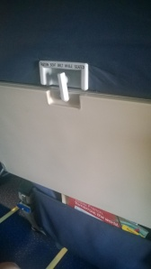 New tray table latch installed.