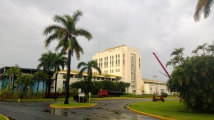 Bacardi distillery building.