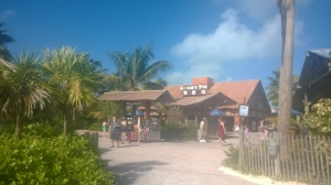 Cookies Too BBQ serves you lunch at Castaway Cay